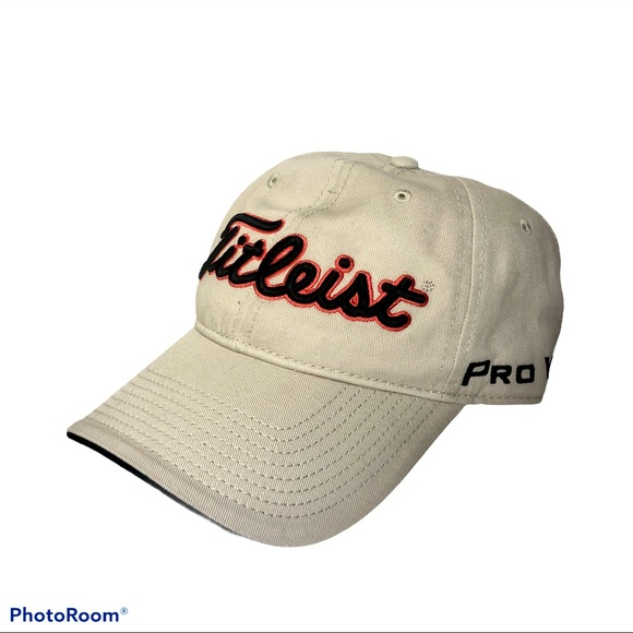 Titleist Pro V1 Footjoy Cotton Adjustable Hat